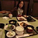 鮎亭 - 料理です。