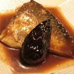 鮎亭 - 鯖の味噌煮です。