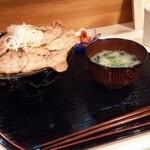 PORCO - 炭火焼熟成ロース味噌豚丼
