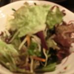 鮎亭 - サラダです。