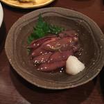 酒肴旬菜 おおあみ - ホタルイカ醤油漬け