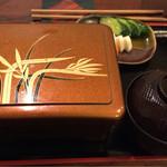 43262556 - うな重。竹。