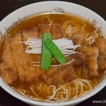 味の中華 羽衣 - 排骨麺【2015年10月】
