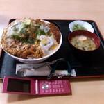 43263240 - デカツ丼:全景&比較図 by ももち