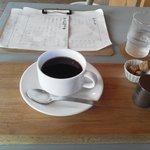 Kissa&Dining 山ノ舎 - ドリップコーヒー \450- ブレンドかな