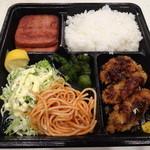 レストラン ポパイ - カキフライとハムステーキ(1,000円)
