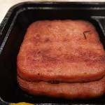 レストラン ポパイ - ハムステーキは厚切りが2枚