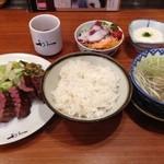 仙臺たんや 利久 - たんとろ定食