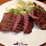 仙臺たんや 利久 - たんとろ定食の牛タン