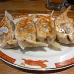 タイガー餃子会館 - ぷっくり餃子