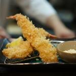 成蔵 - 海老フライ これはイマイチ