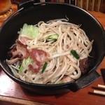 播州佐用名物(つけ麺)ホルモン焼うどん テン - 名物ホルモン焼うどん