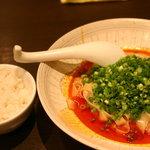 想吃担担面 エスカ店 - 汁なし坦々麺 ひき肉のせ850円 御飯無料