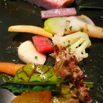 NARISAWA - 森からの贈り物(鹿児島県・完全放牧黒豚)