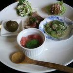 焼肉御膳蓮 - ヘルシーランチ☆一皿目