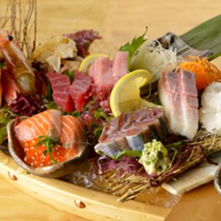旬の魚は当日のお楽しみ*独自ルートでどこよりも美味しく・安く
