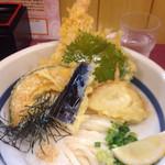 かもめ - ぶっかけ天ぷら