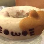 イクミママのどうぶつドーナツ! 自由が丘店 - 一番人気のミケ260円。