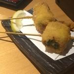 京都烏丸くろ - 食べ応えのある串もの