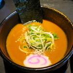 麺の坊 晴天 - 赤つけ汁