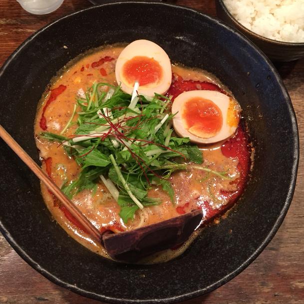 うさぎ - 担々麺1辛+味玉 1050円