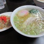 大正庵 - 炒飯セット2015.10.13