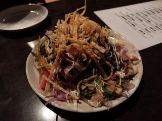 博多もつ鍋専門 食べ放題居酒屋 筍庭 - 和風サラダ