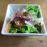ビッグフォーレスト - サラダのアップ