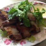 台湾料理 ごとう - 自家製干し豚肉