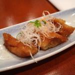 Kagaya - 先付(若鶏の胸肉甘辛煮)[昼のおまかせ会席]