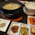 韓国料理ノダジ - 参鶏湯定食