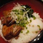 村民食堂 - 角煮丼