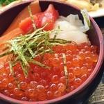 43280386 - ミニ海鮮丼作りました♪
