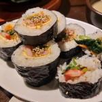 韓国料理ノダジ - 韓国海苔巻き