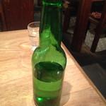 ひらがな館 - 水入れのボトル