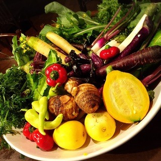 鎌倉野菜をふんだんに使ってます。