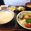 きんとき幸寿し - 料理写真:日替わり定食(鯵のヒラキ)600円