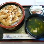 鳥亀食堂 - たつた丼