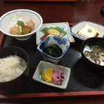 43281033 - 高野山「丸万」「精進定食」1,840円