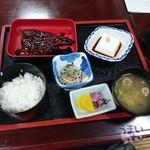 43281041 - 高野山「丸万」「かば焼き定食」 1,880円