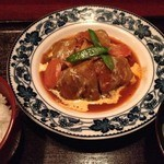 まんま みじんこ洞 - ロールキャベツ(ご飯、お吸い物セットで900円)