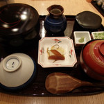 ひつまぶし名古屋 備長 - 上ひつまぶし(3980円プラス税)