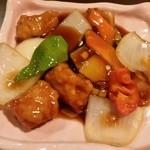 八仙閣 - 料理写真:酢豚