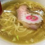麺肆 秀膽 - ❝The・鶏❕❕❞の清湯スープが支那そばの特徴❀