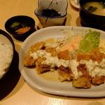 男はつらい - 日替わり定食 チキン南蛮 700円(15年9月)