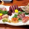 大海 - 料理写真:刺し身盛り合わせ