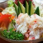 大海 - 蟹サラダ