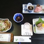 あづまや旅館 - 料理写真:(20151017)