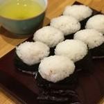 千寿 - 料理写真:天むす 8個