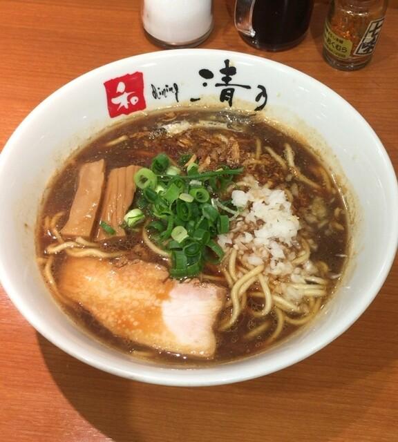 清乃 近鉄百貨店和歌山店 - 煮干しブラック[750円]